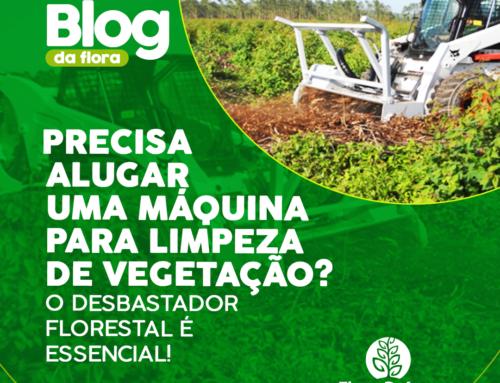 Precisa #alugar uma máquina para limpeza de Vegetação? O #Desbastador Florestal é essencial!